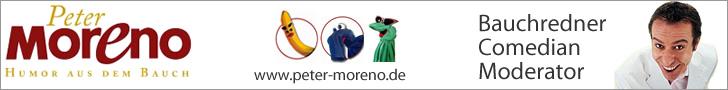 Bauchredner, Comedian und Moderator Peter Moreno
