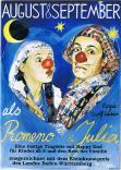 Willer Udo  Theater August & September in ROMENO und JULIA :eine lustige Tragödie mit Happy End,für Kinder ab 5 Clownduos