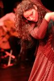 Adjemi Leila  Flamenco und Körpersprache im Landestheater Tübingen beim Kongress Rooted 13.-15. Juli 2012 Coaching