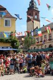 Müller Werner  10. Festival der Straßenkunst in 77716 Haslach am 31. Juli 2016 Gauklerfestivals Wettbewerbe