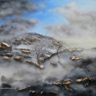 Ich male sehr gerne in Öl, aber auch in Acryl und Graphit. Strukturen und verschiedene Materialien ...