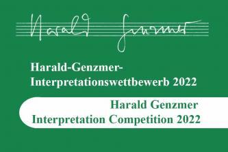 Der Harald-Genzmer Wettbewerb ist ausgeschrieben für Duo Violine und Klavier (Duowertung) und ...