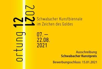 Hoffmann-Rivero M.A. Sandra  ortung 12. – Im Zeichen des Goldes - Bewerbung um den Schwabacher Kunstpreis bis 15.01.2021 Künstlerinnen Kulturpreise